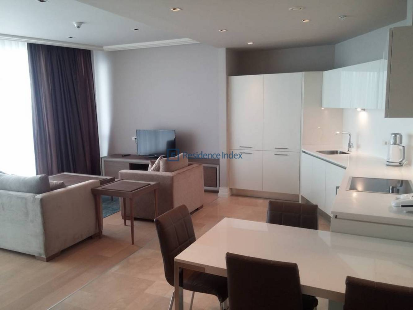 1+1 Furnished Apartment For Rent With Golden Horn View