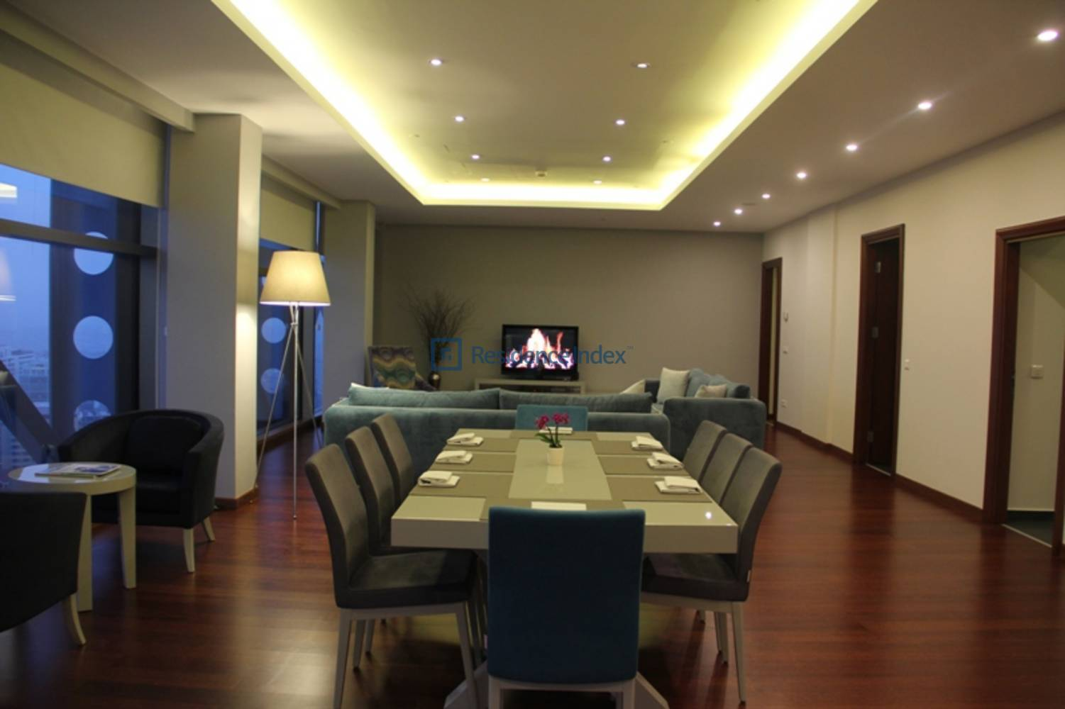 Spacious 2 + 1 Apartment with Bosphorus View on High Floor