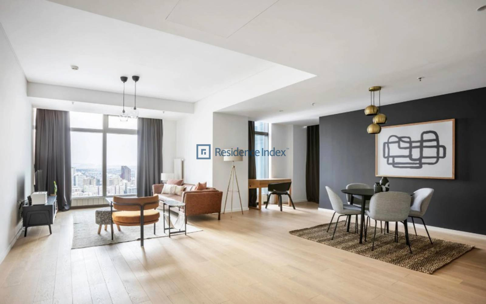 Torun Center - 1+1 Luxury Furnished Residence Apartment For Rent