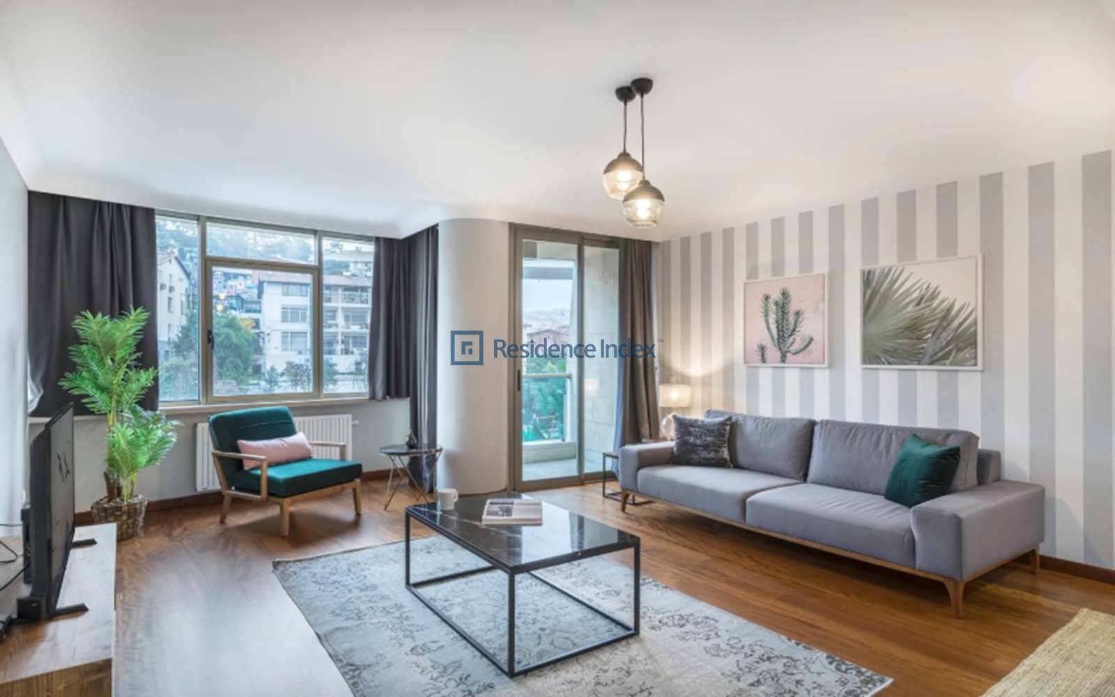 One Ortaköy - 3 + 1 Furnished Apartment for Rent