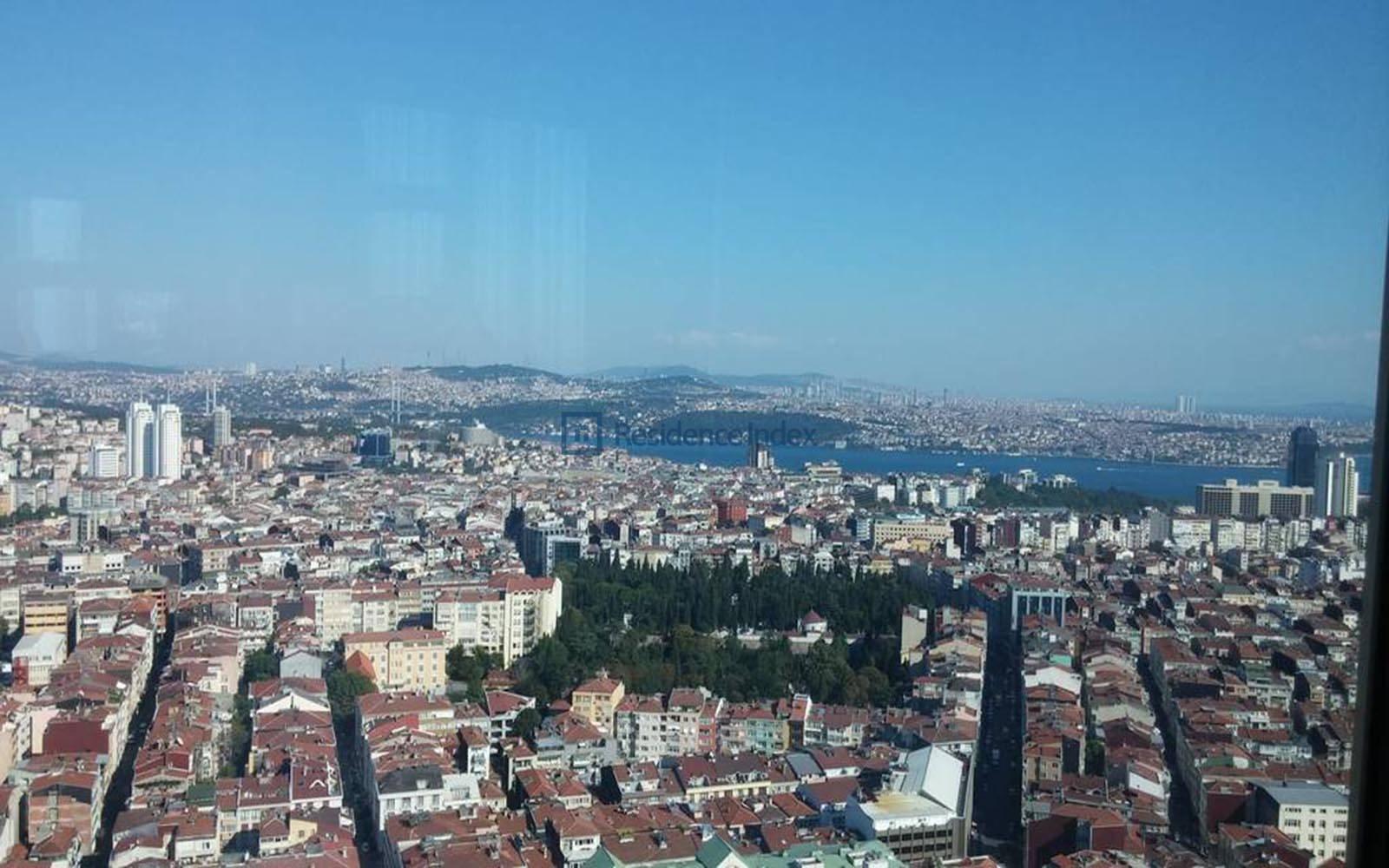 Bomonti Divan Residence - Bosphorus View Flat For Rent 1+1