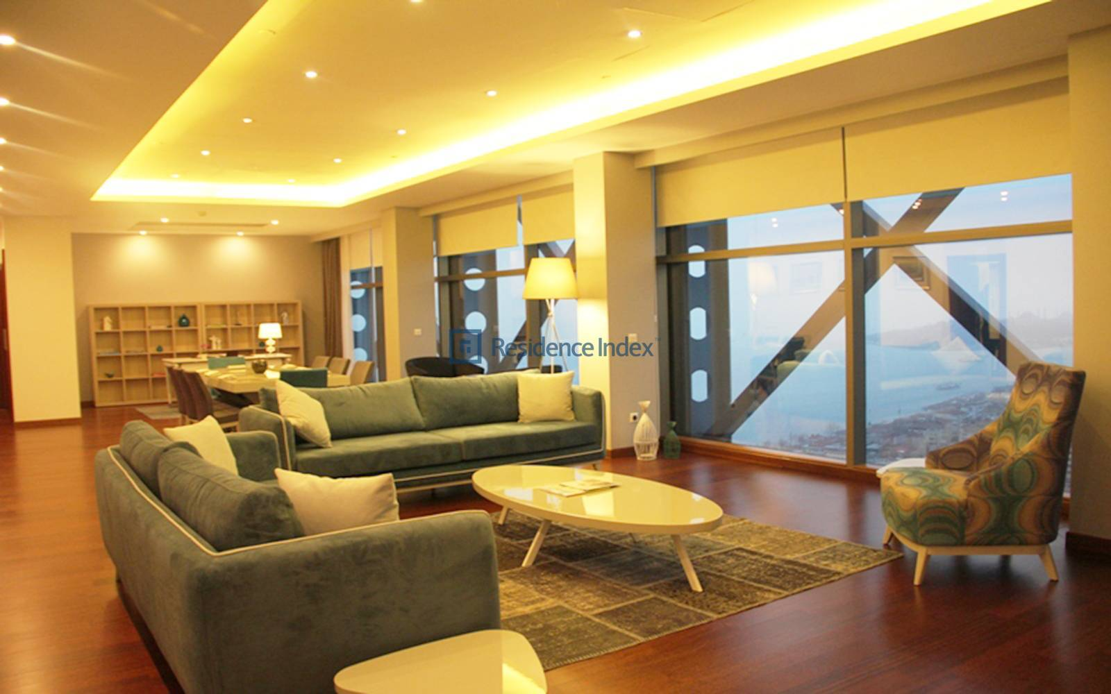 Ritz Carlton Residence - Spacious 2 + 1 Apartment with Bosphorus View on High Floor