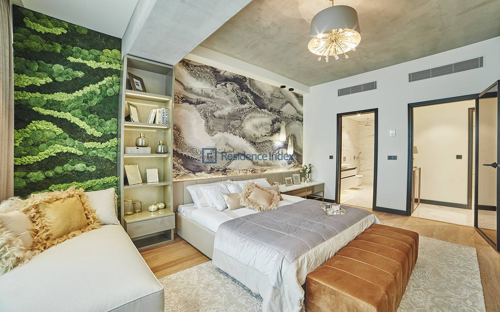 Bosphorus View For Sale 3,5 + 1 Residence Apartment