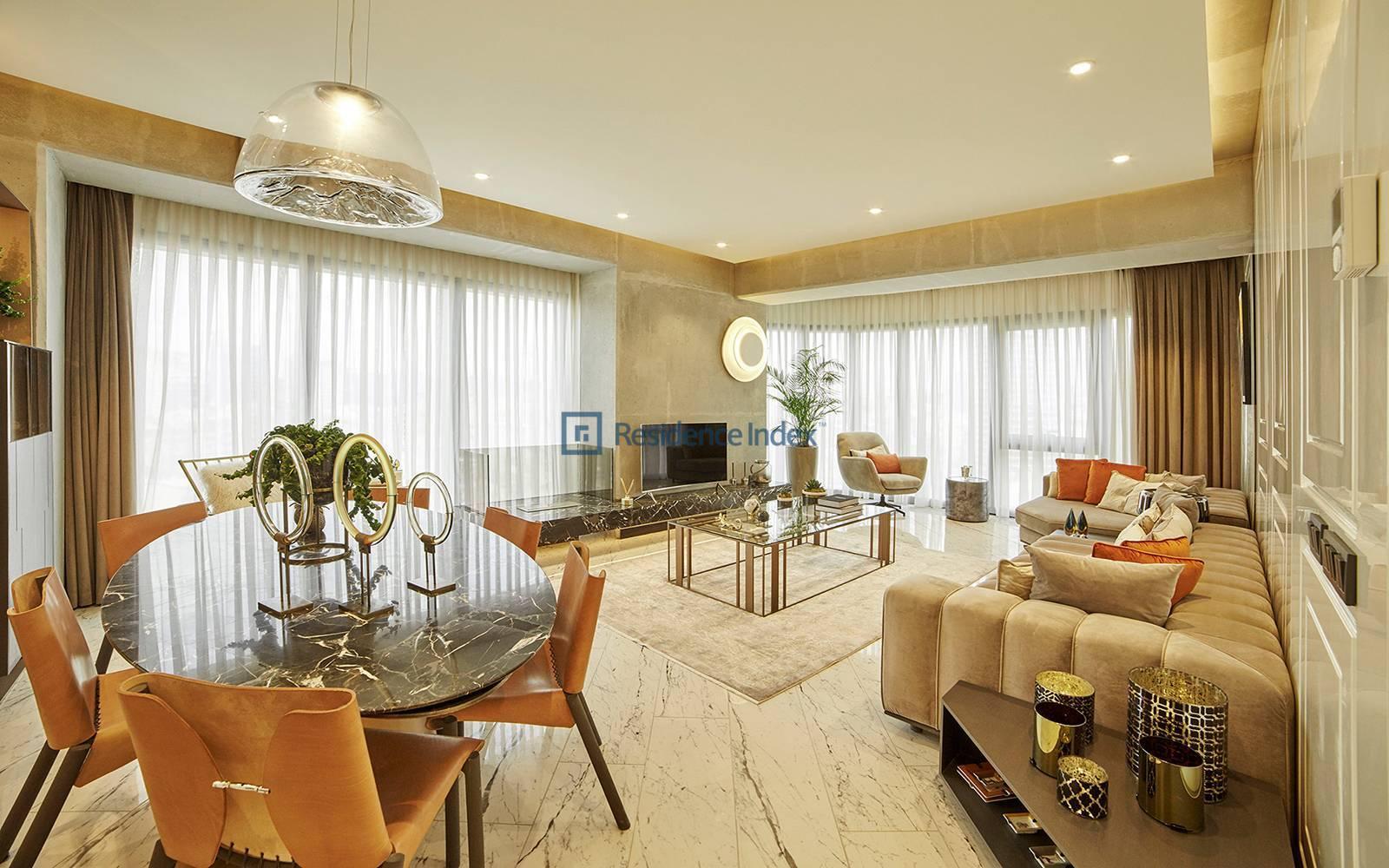 Sinpaş Queen Central Park - Excellent Bosphorus View For sale 2 + 1 Apartment