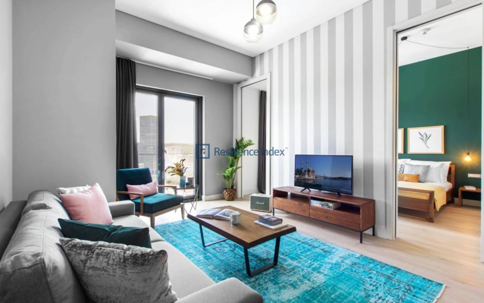 Nurol Life - 1+1 Furnished Apartment For Rent