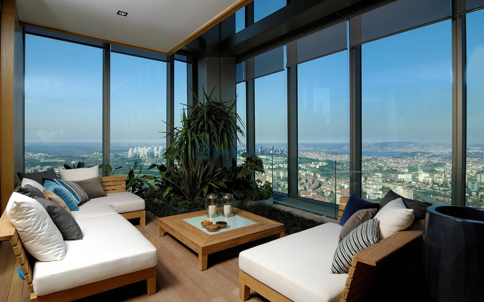 Sapphire Residence - Bosphorus View, Luxury 3 + 1 Residence For Rent