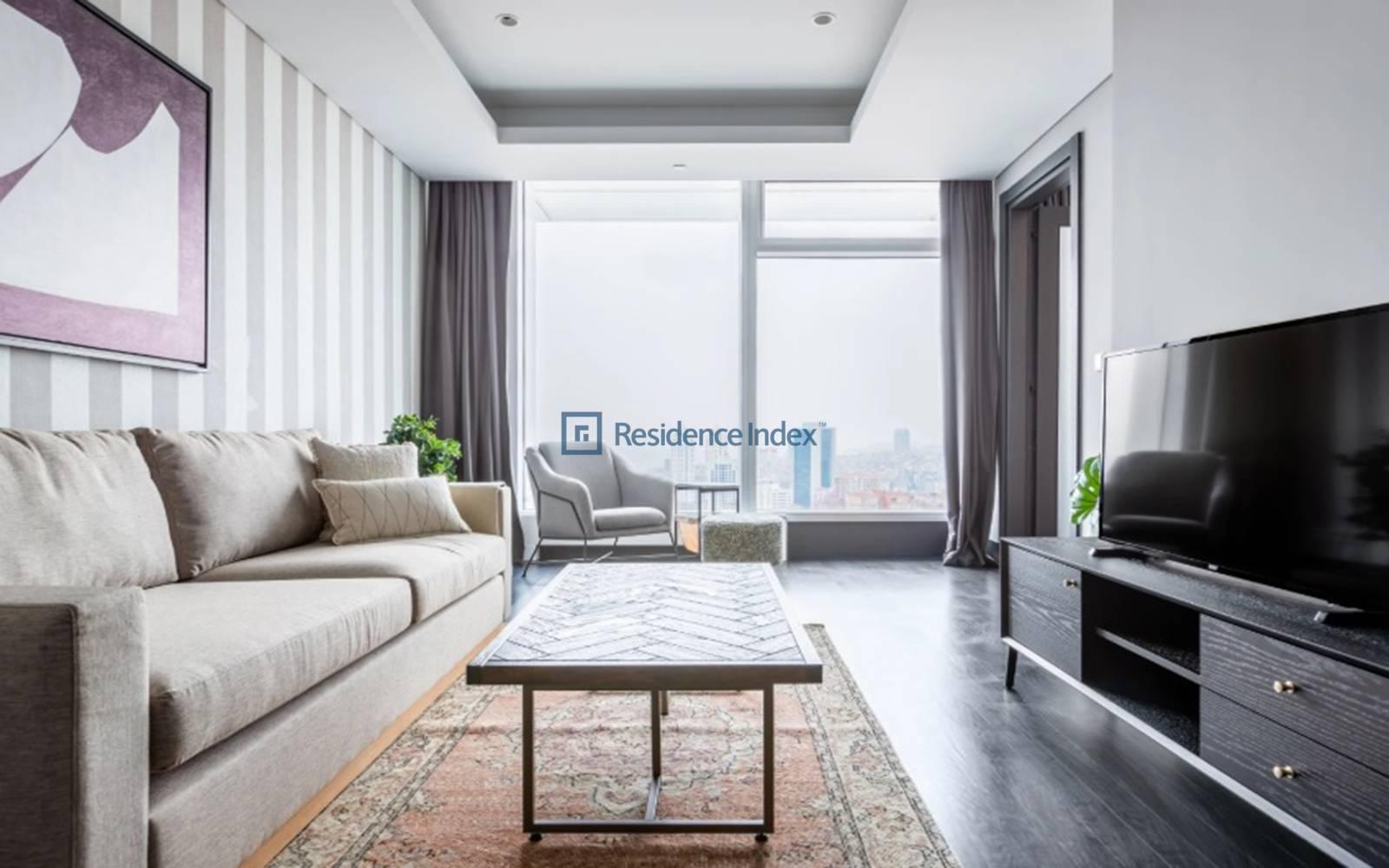 Quasar İstanbul - 1+1 Furnished Super Flat for Rent