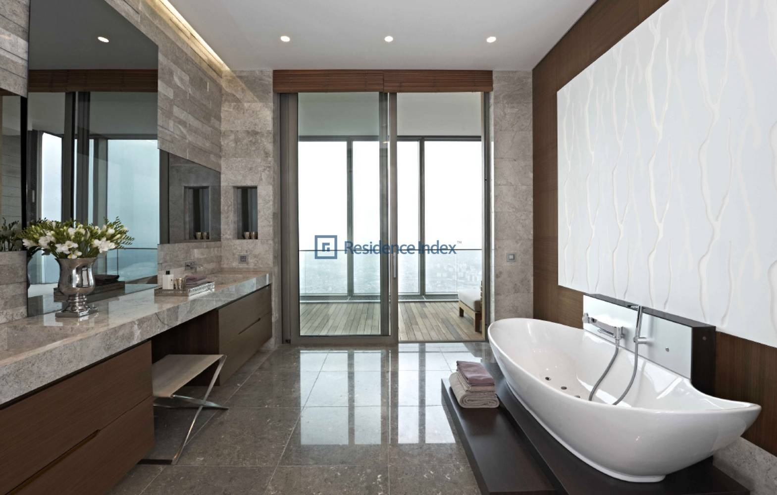 South Front, With Bosphorus View, Spacious 2 + 1 Residence For Sale