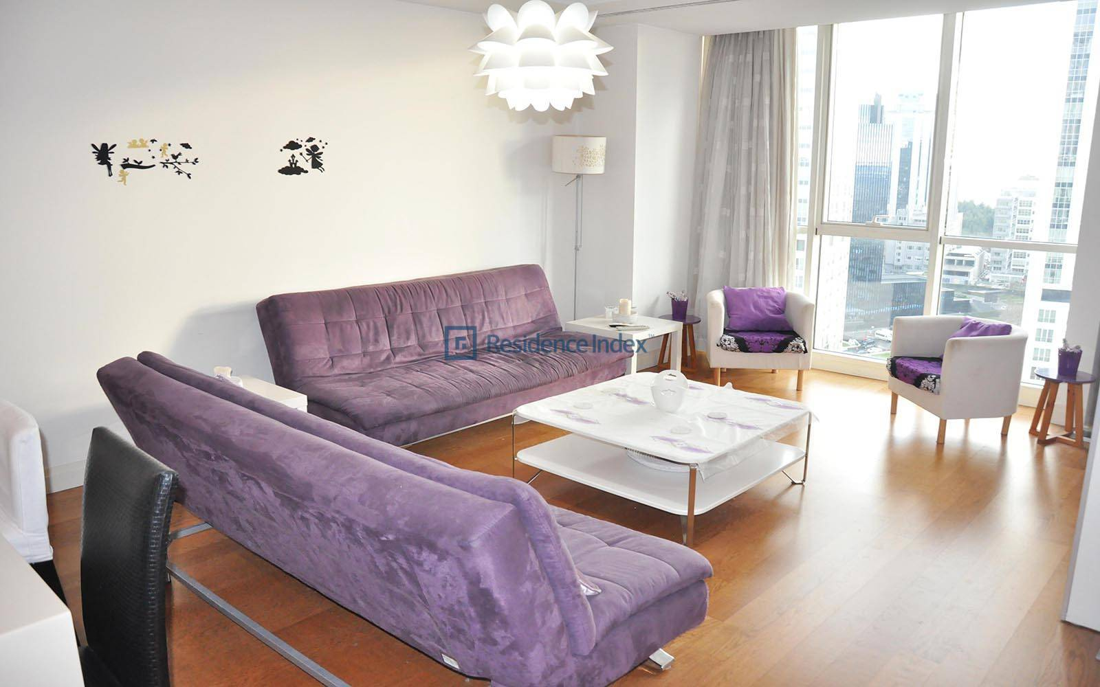 Mashattan - High Floor Furnished 1 + 1 apartment for rent