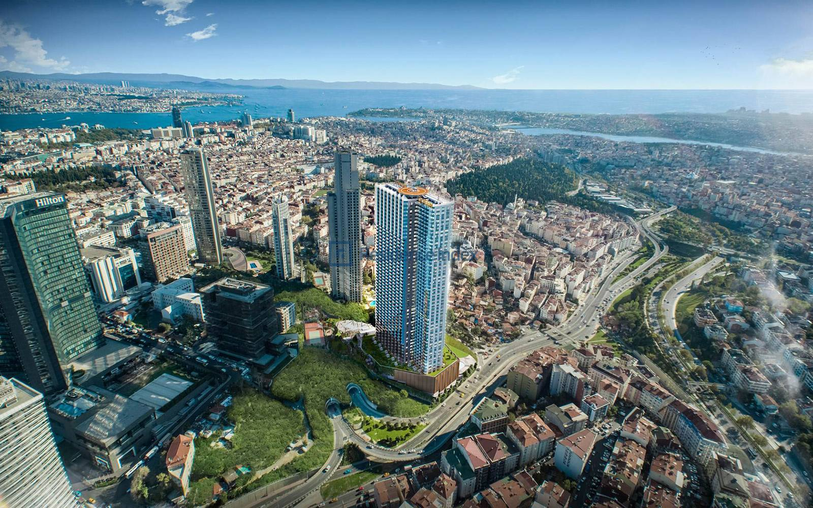 Sinpaş Queen Central Park - 2+1 Opportunity Flat For Rent