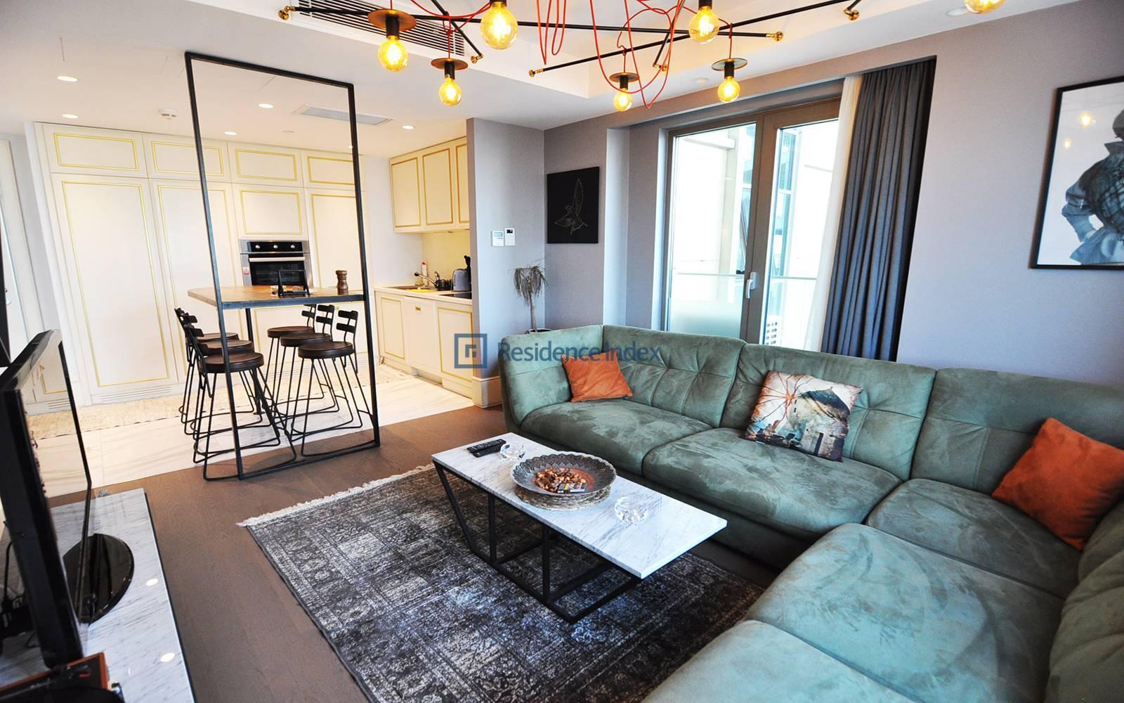 Elysium Art Bomonti - 1+1 Flat for Sale with Perfect Bosphorus View