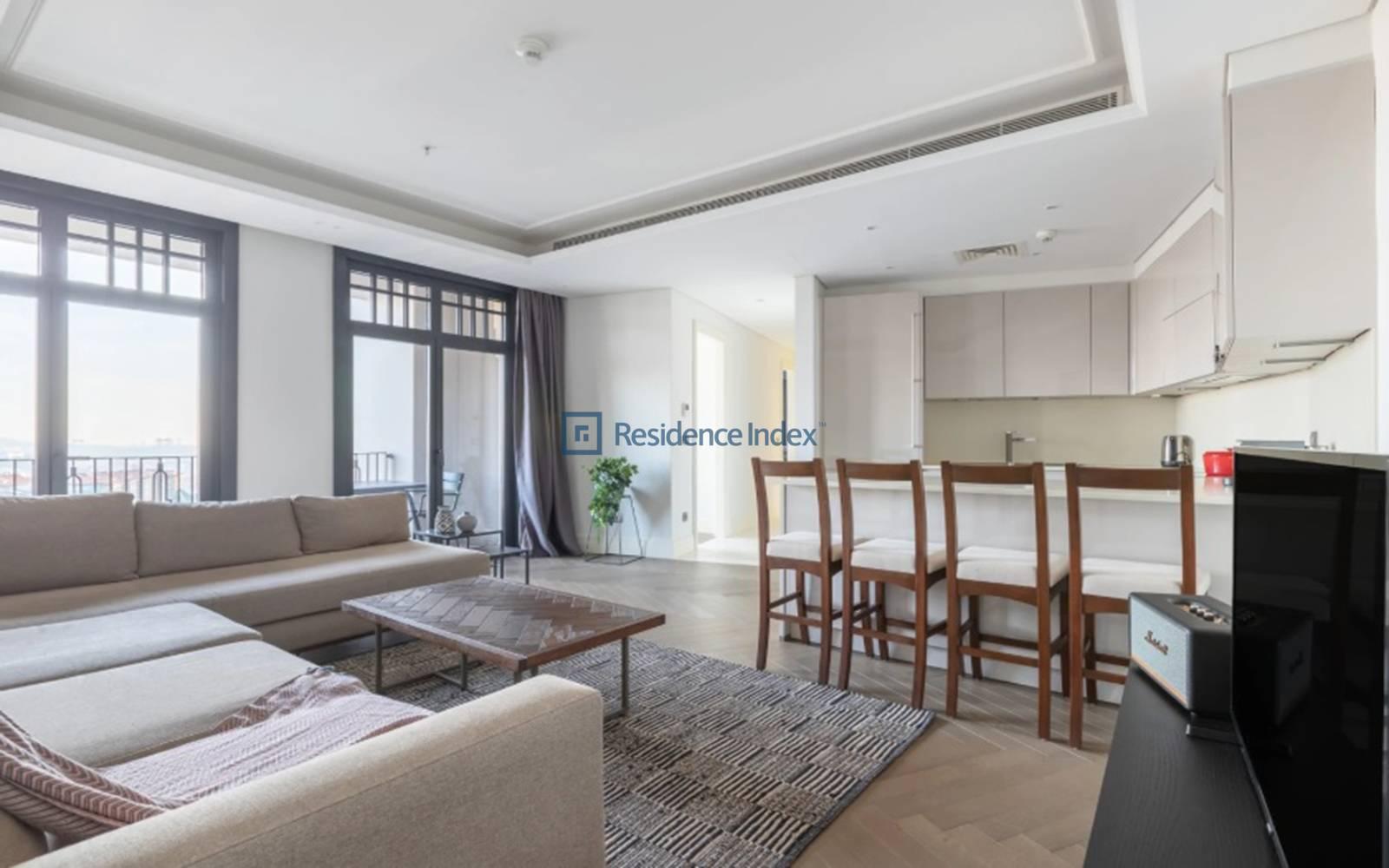 Nisbetiye On - 2+1 Furnished Apartment For Rent