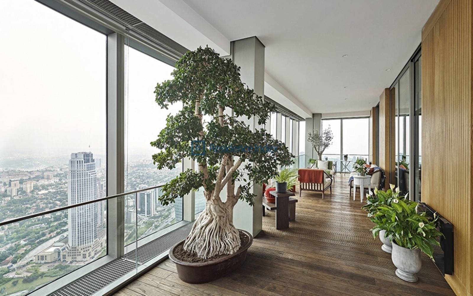 Sapphire Residence - Perfect view, Luxury Furnished 5 + 1 Residence Apartment