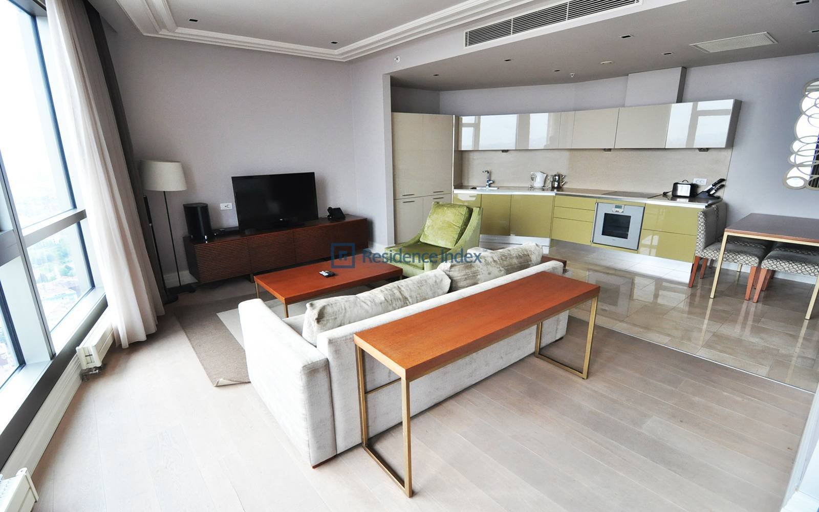 1+1 Furnished Apartment For Rent With Bosphorus View