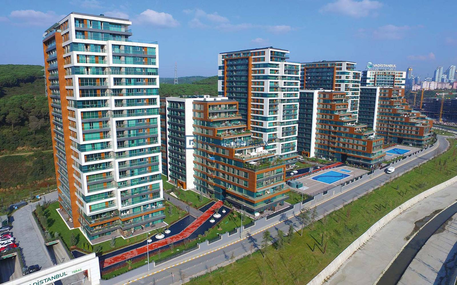 High Floor 1 + 1 apartment for sale