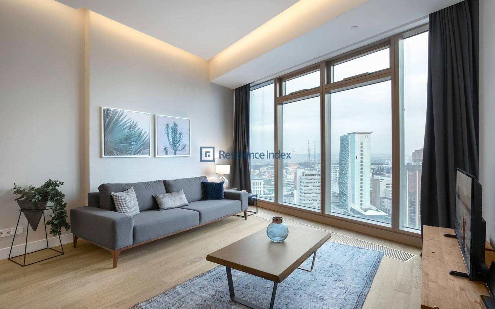Maslak 42 - Bosphorus view furnished apartment