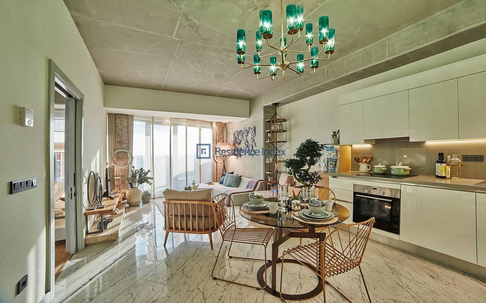 Sinpaş Queen Central Park - 1 + 1 apartment for rent