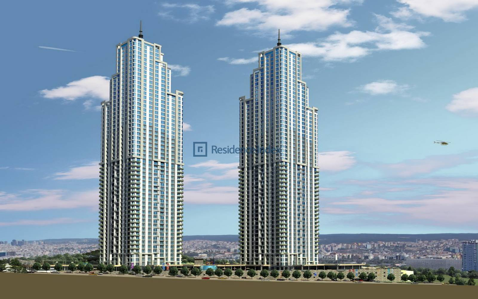 2 + 1 Flat For Sale