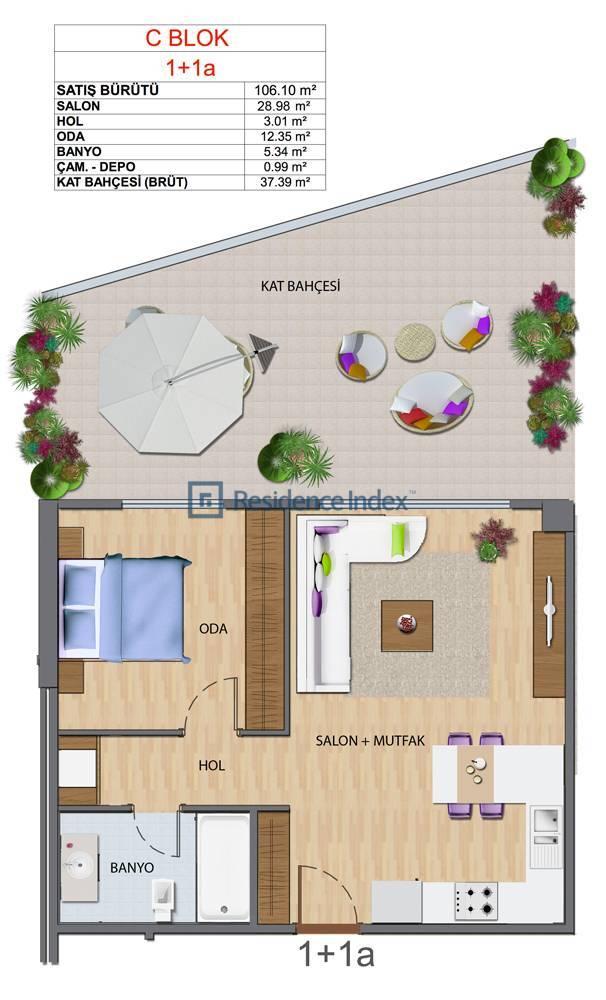 Maslak My Home C-A