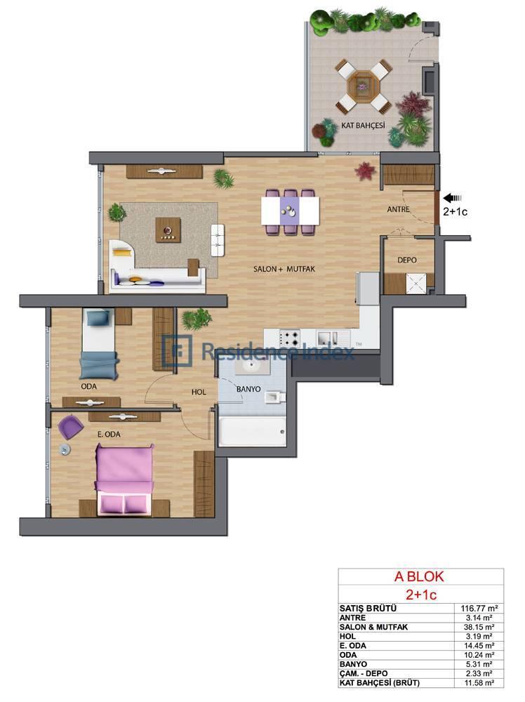 Maslak My Home A-C