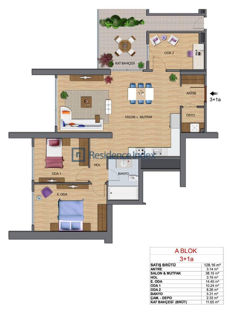 Maslak My Home A-A