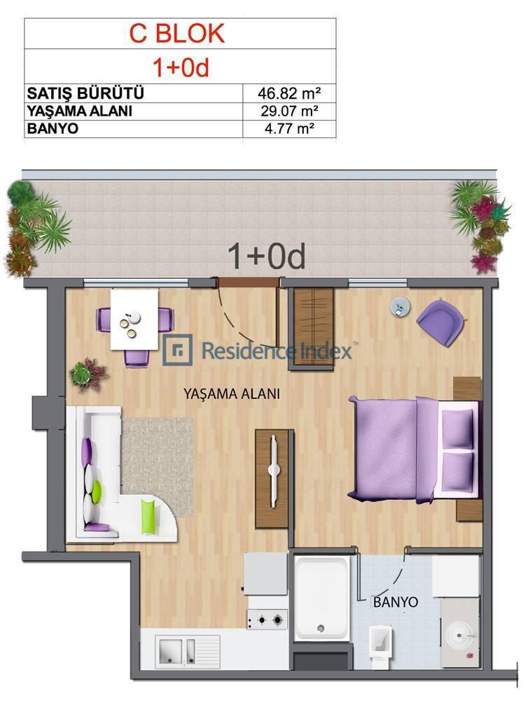 Maslak My Home C-D