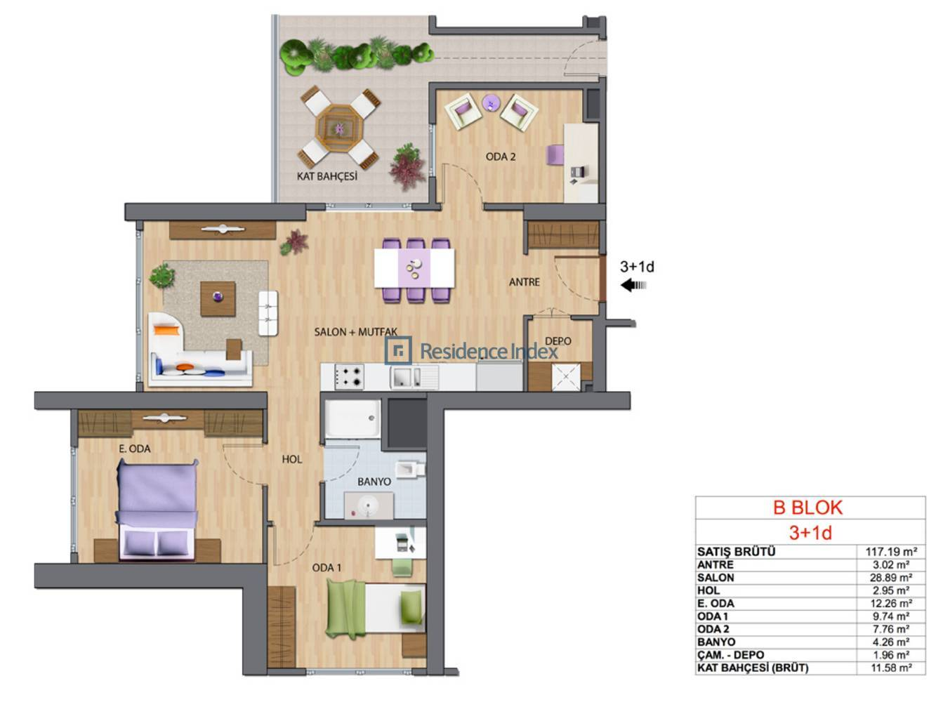 Maslak My Home B-D