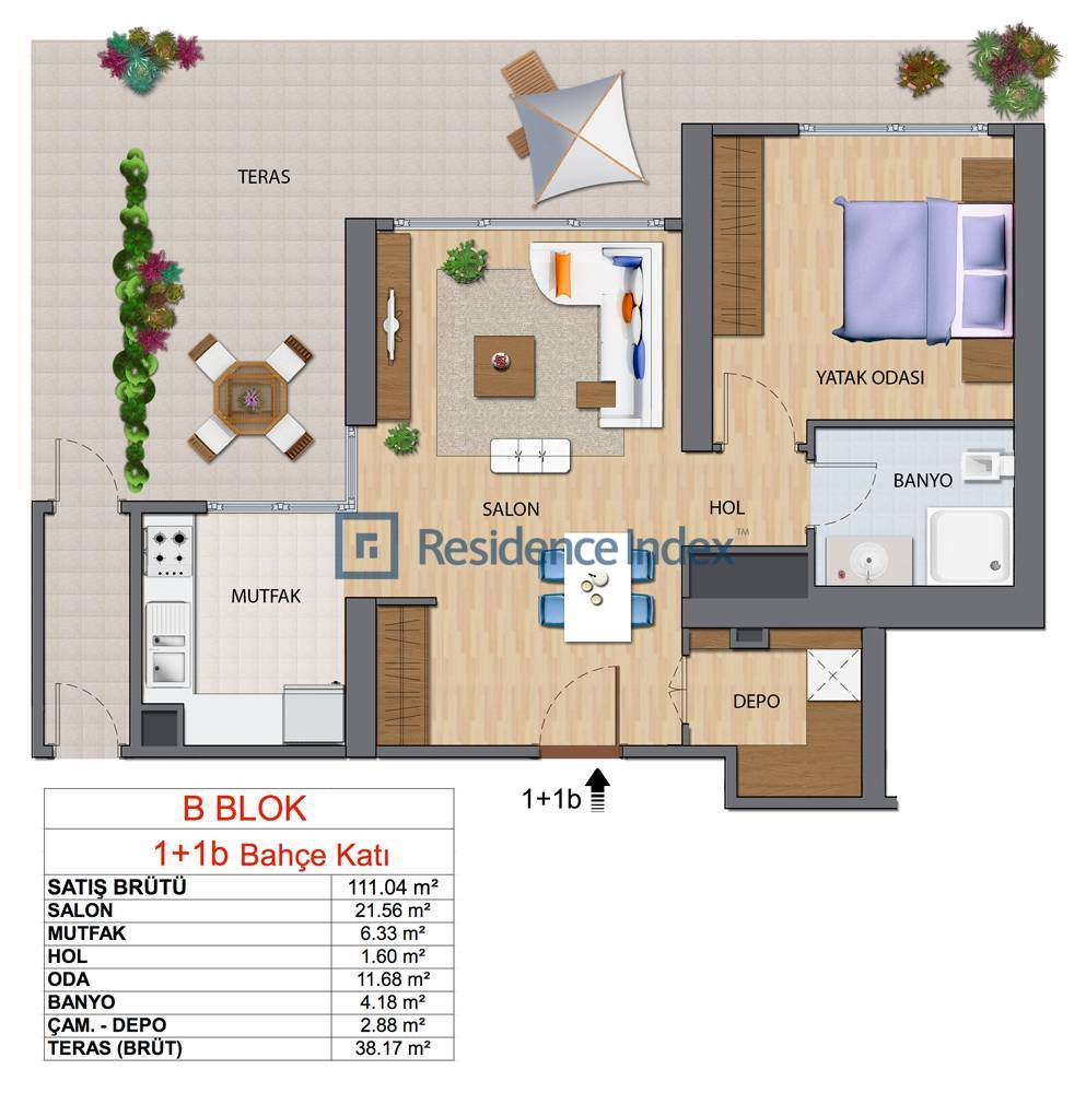 Maslak My Home B-B