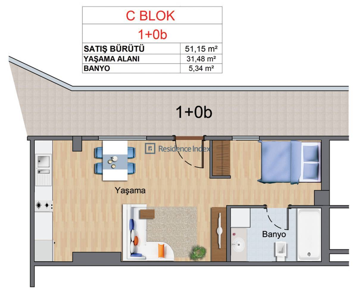 Maslak My Home C-B