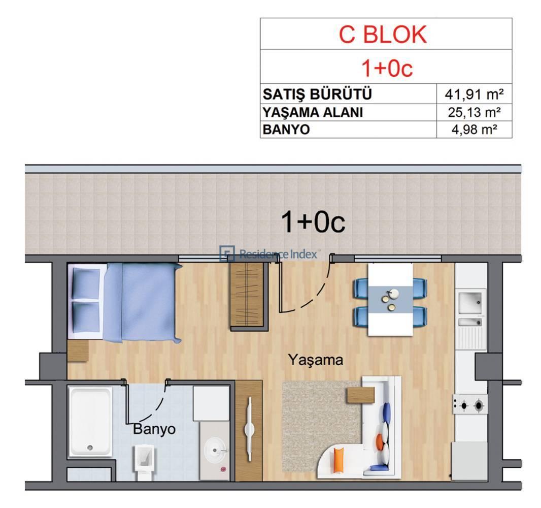 Maslak My Home C-C