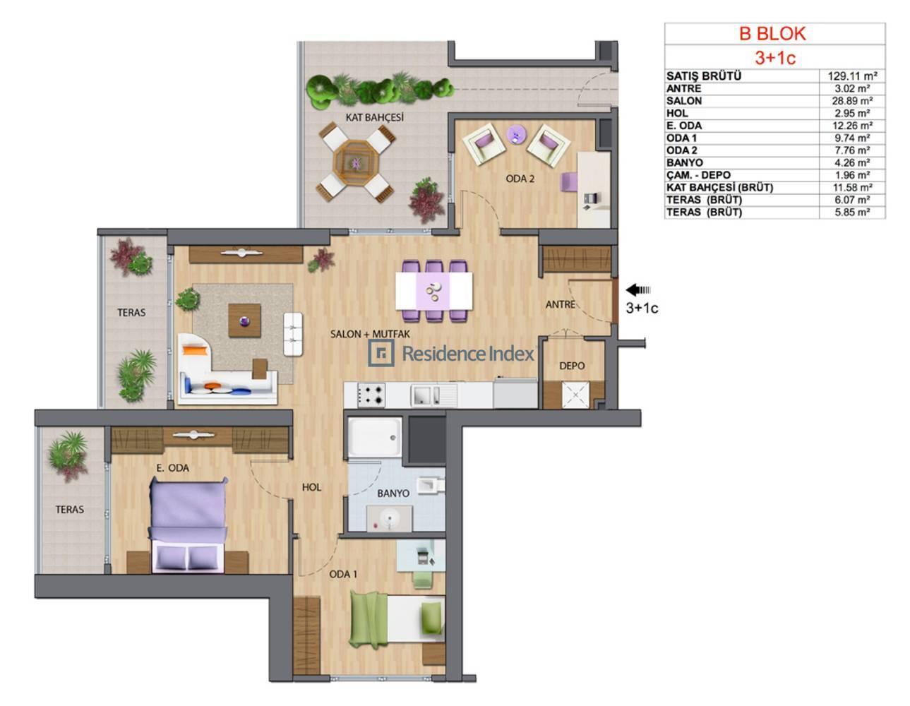 Maslak My Home B-C