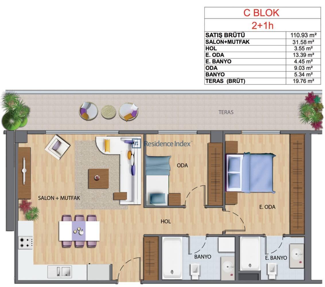 Maslak My Home C-H