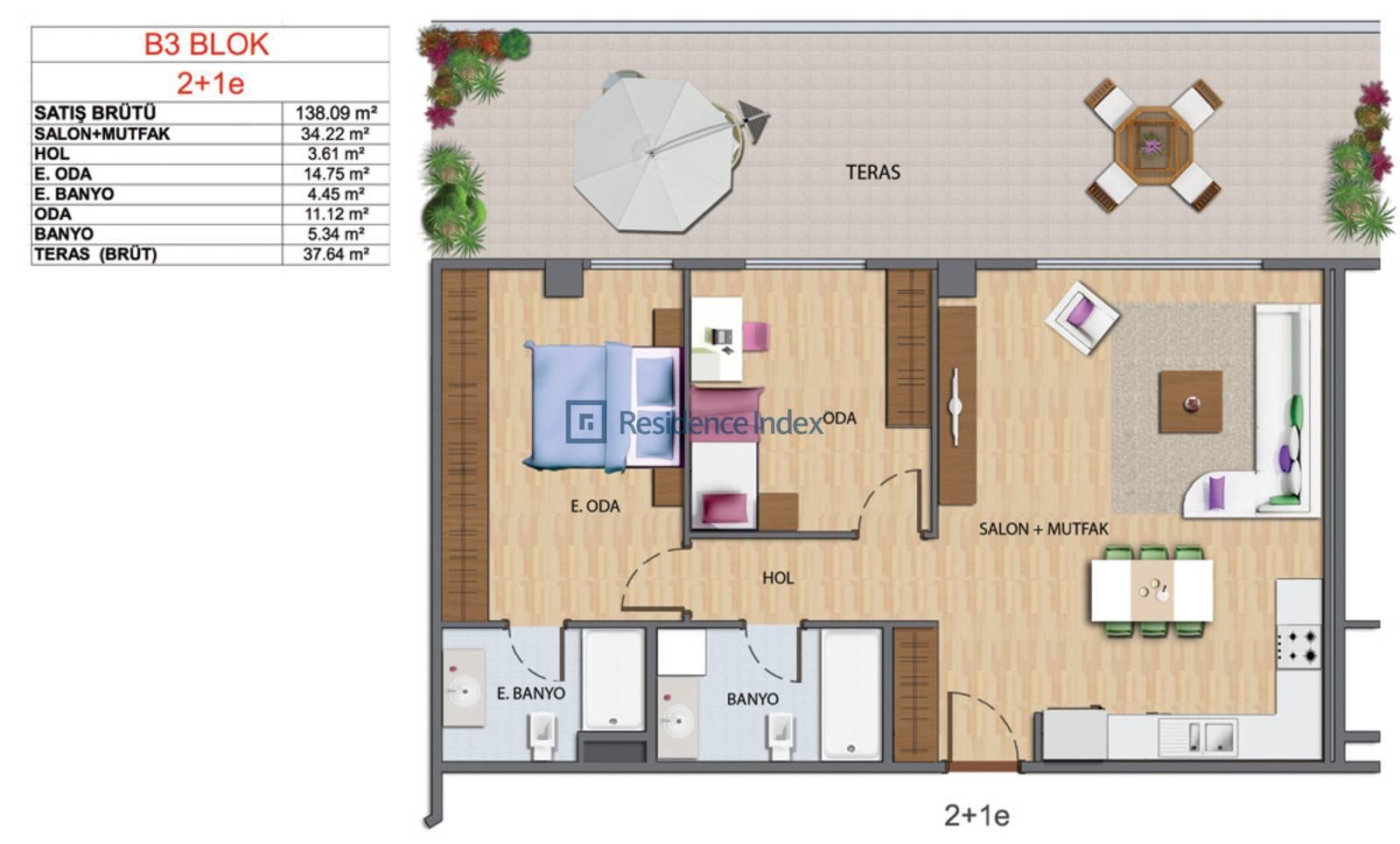 Maslak My Home B3-E