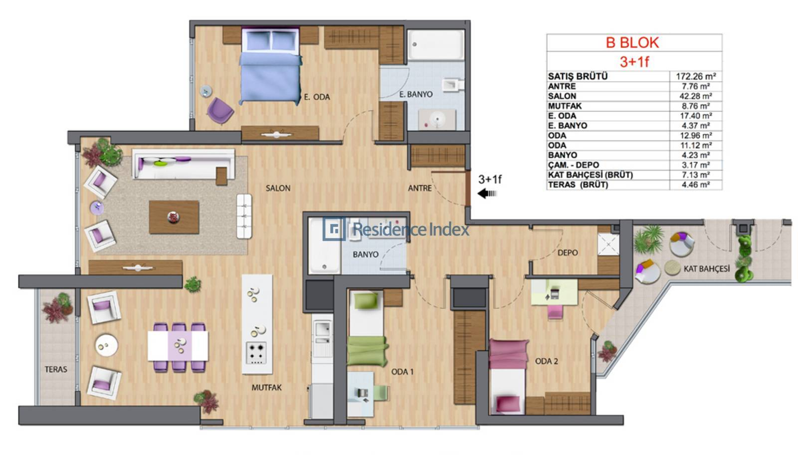 Maslak My Home B-F