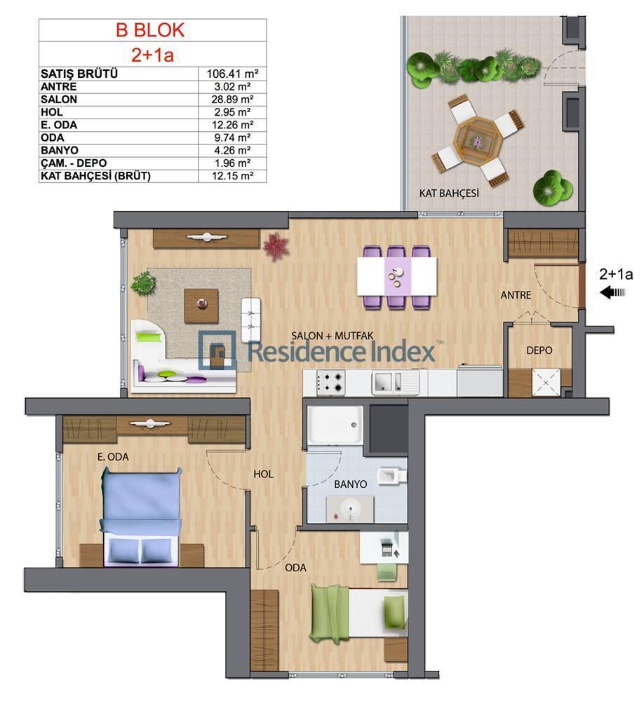 Maslak My Home B-A