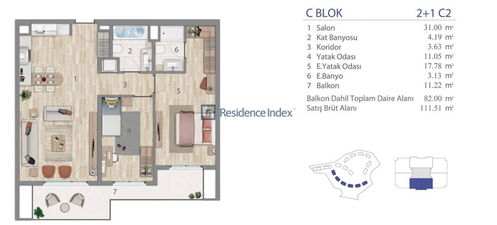 5.LEVENT C Blok C2