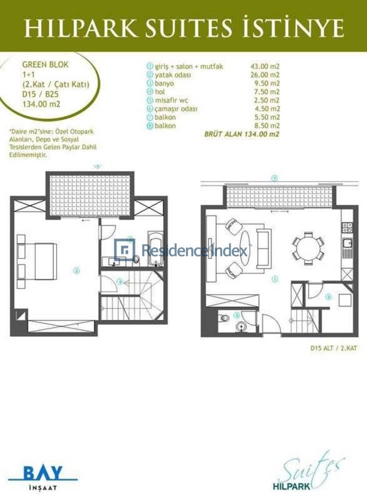 Hilpark Suites İstinye B25