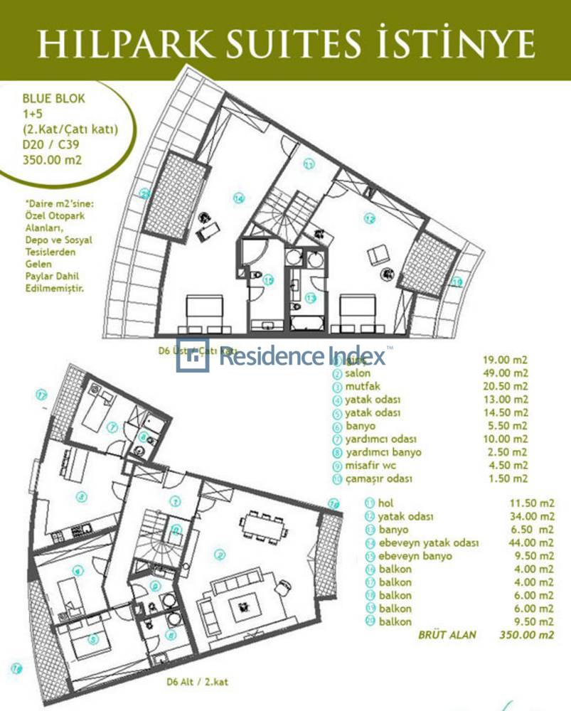 Hilpark Suites İstinye C39