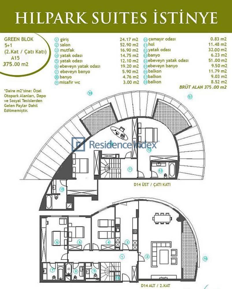Hilpark Suites İstinye A15