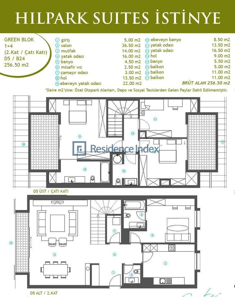 Hilpark Suites İstinye B24