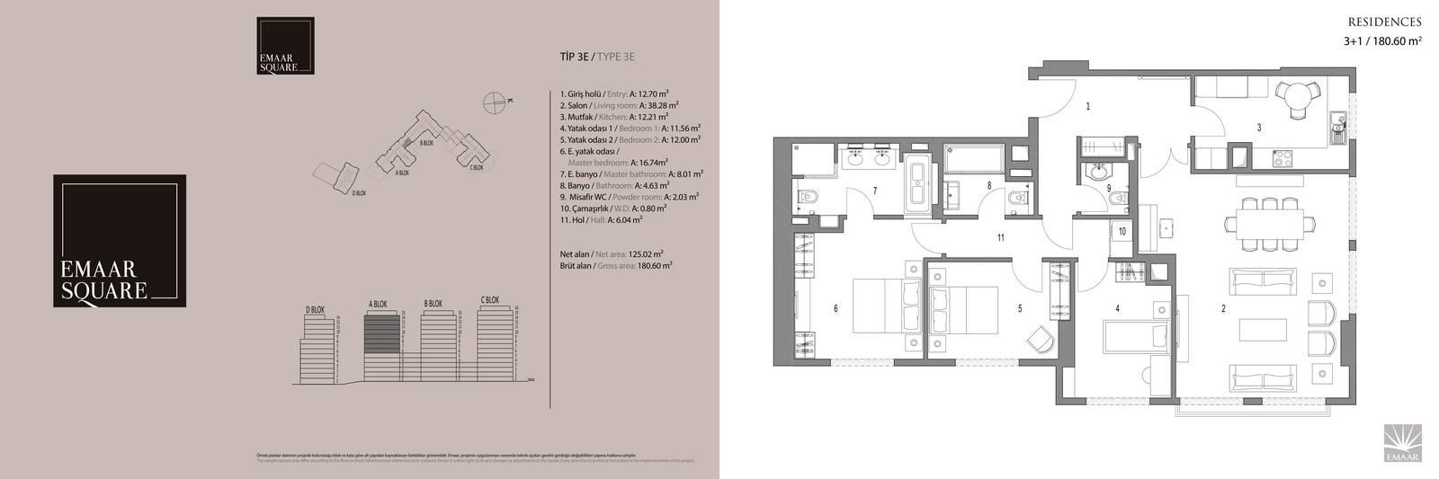 Emaar Square 3E