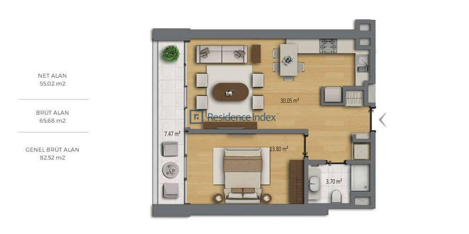 Bomonti Residences By Rotana A