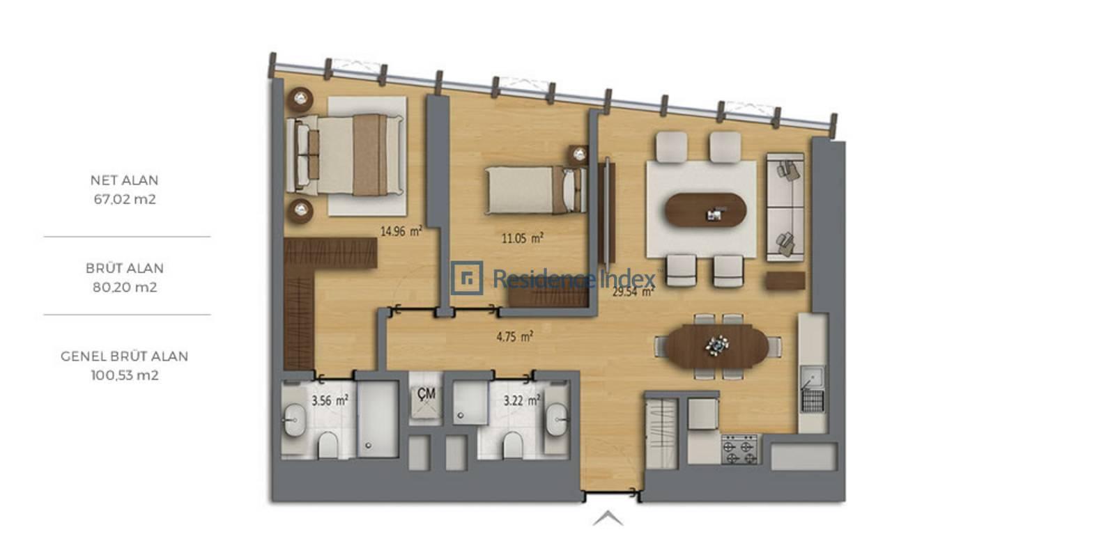 Bomonti Residences By Rotana B