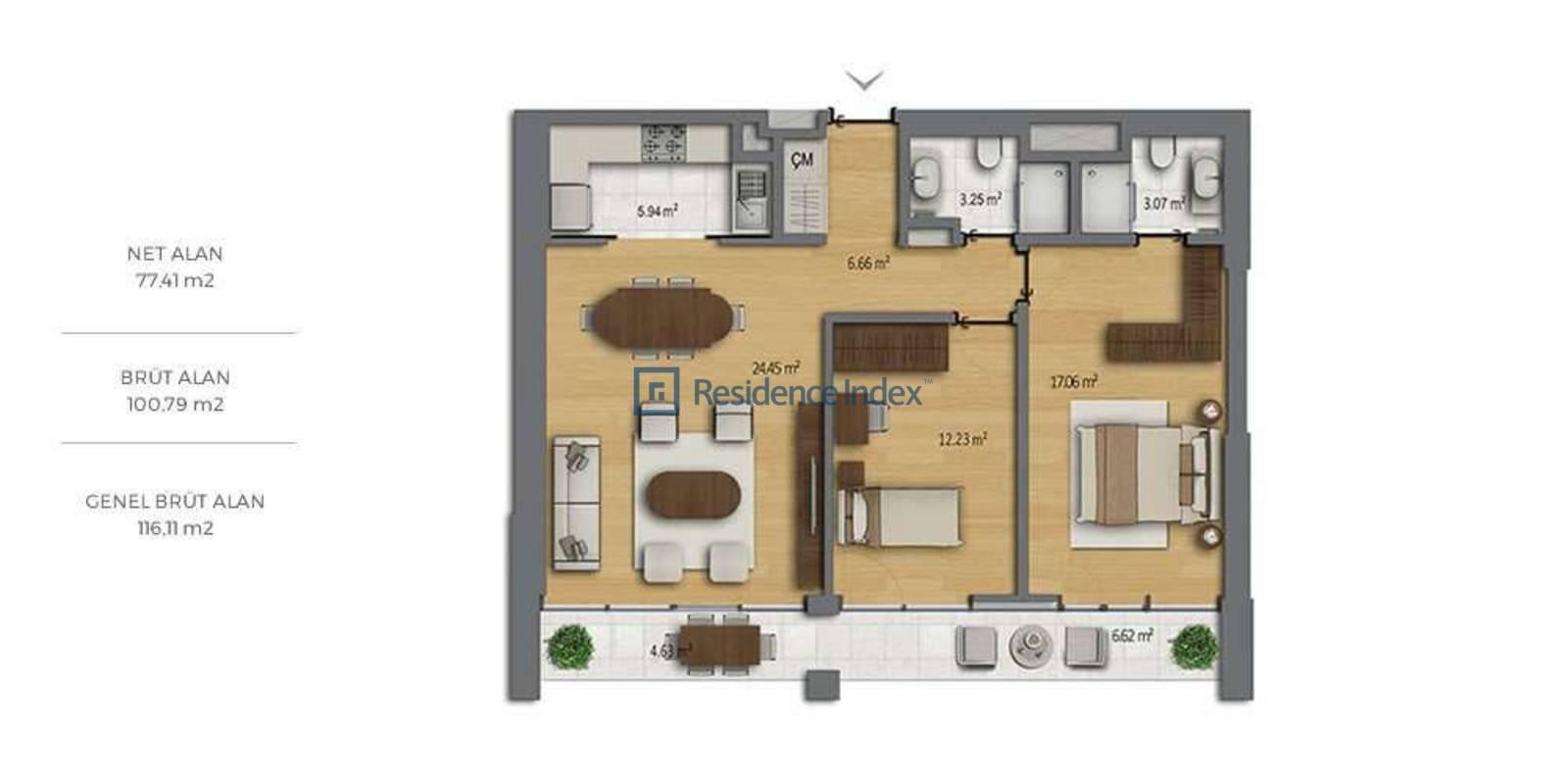 Bomonti Residences By Rotana B3