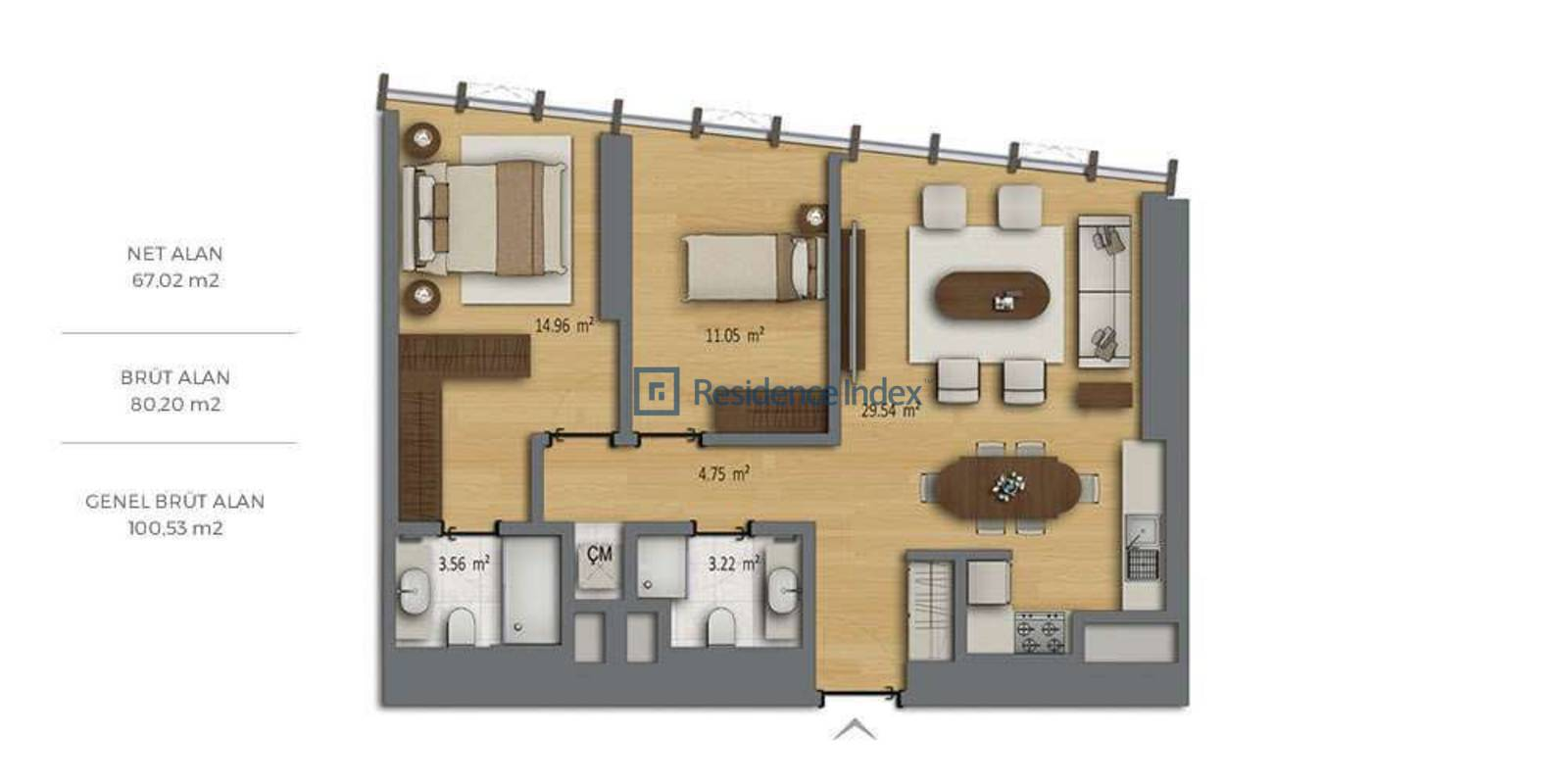 Bomonti Residences By Rotana B2