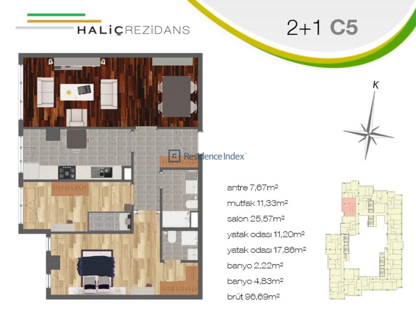 Haliç Rezidans C5