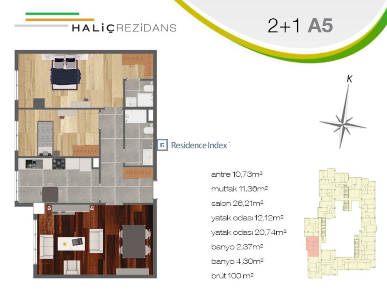 Haliç Rezidans A5