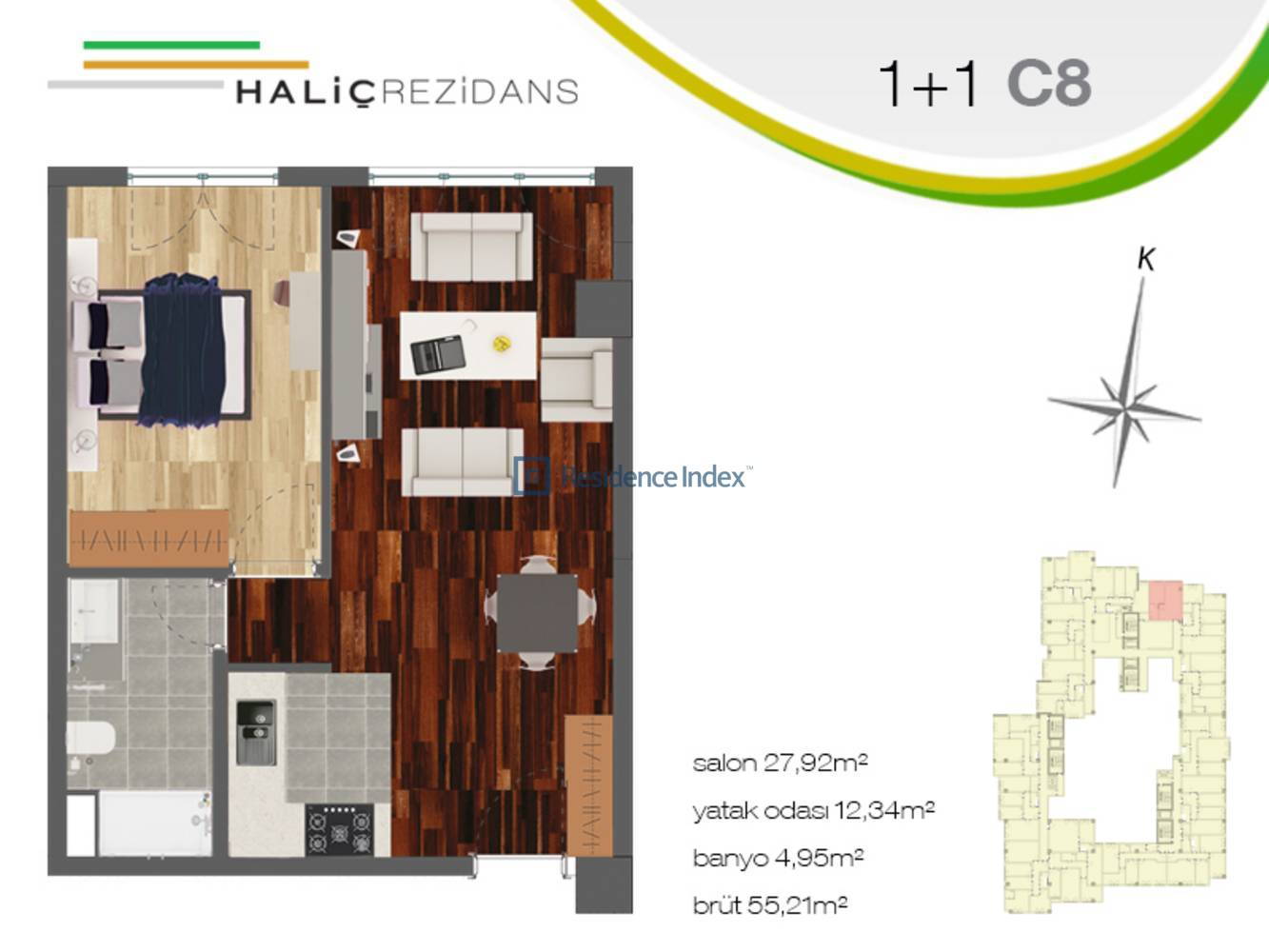 Haliç Rezidans C8