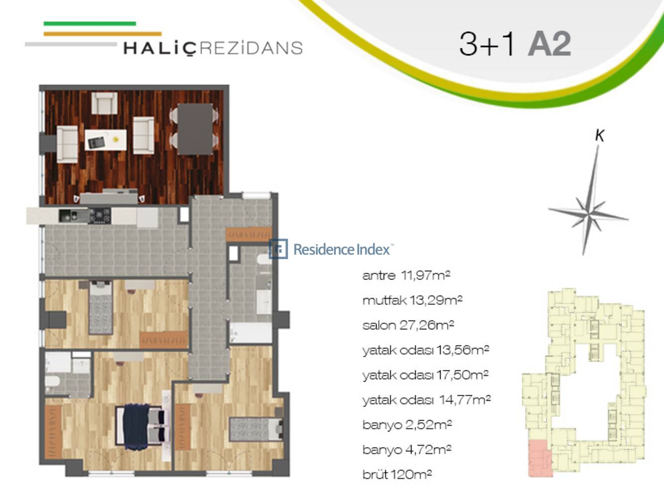 Haliç Rezidans A2