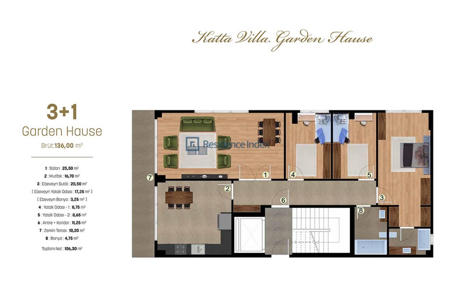 Alya Grandis Garden Hause